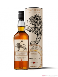 The Game of Thrones House Lannister Lagavulin 9 Years Whisky 46% 0,7l
