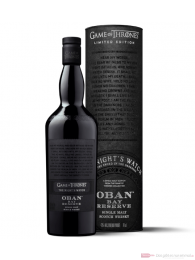 Game of Thrones House The Night's Watch Oban Bay Reserve Whisky 0,7l