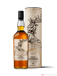 Game of Thrones House Baratheon Royal Lochnagar 12 Years Whisky 0,7l