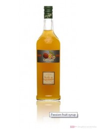 Giffard Sirup Fruits of Passion Maracuja 1,0l Flasche