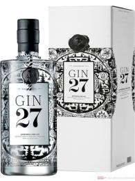 Gin 27 Premium Appenzeller Dry Gin in Geschenkverpackung 0,7l