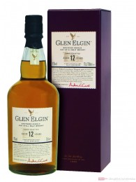Glen Elgin 12 Jahre Speyside Single Pott Still Malt Whisky 0,7l
