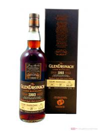Glendronach Cask Bottling 1993 27 Years Single Malt Scotch Whisky 0,7l