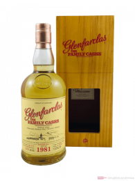 Glenfarclas The Family Casks Single Cask 4th Fill Butt 1981