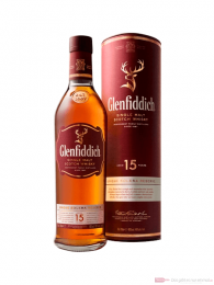 Glenfiddich 15 Years Single Malt Scotch Whisky 0,7l