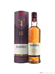 Glenfiddich 15 Years New Design Single Malt Scotch Whisky 0,7l
