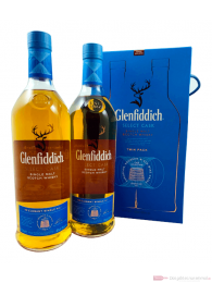 Glenfiddich Cask Collection Select Cask Travel Exclusive Twin Pack Whisky 2-1,0l