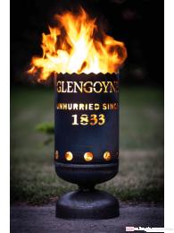 Glengoyne Whisky Feuerkorb circa 60 cm