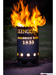 Glengoyne Whisky Feuertonne circa 60 cm