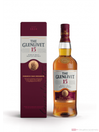 The Glenlivet 15 years Highland Single Malt Scotch Whisky 0,7l