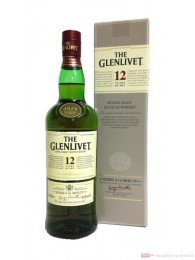The Glenlivet 12 years Highland Single Malt Scotch Whisky 1,0l