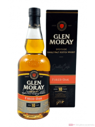 Glen Moray 10 Years Fired Oak Single Malt Scotch Whisky 0,7l