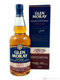 Glen Moray Elgin Classic Cabernet Cask Finish Single Malt Scotch Whisky 0,7l