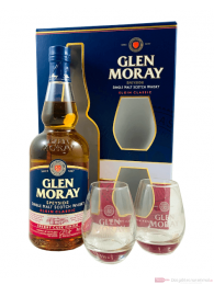 Glen Moray Sherry Cask Finish mit Glas Single Malt Scotch Whisky 0,7l