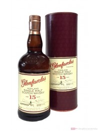 Glenfarclas 15 Years Single Highland Malt Scotch Whisky 0,7l