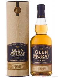 Glen Moray 12 Years Single Malt Scotch Whisky 0,7l