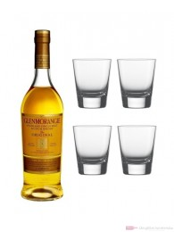 Glenmorangie Original Single Malt Scotch Whisky 0,7l + 4 Tumbler