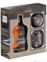 Isle of Jura Superstition Geschenkset 2 Tumbler Single Malt Whisky 0,7l