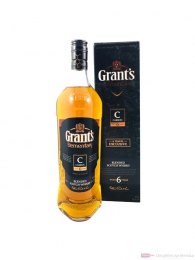 Grant´s Elemantary C Carbon 6 Jahre Blended Scotch Whisky 1,0l