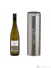 Hans Theo Eser Riesling Classic Qba trocken Weißwein 2010 11,5% 0,75l Flasche in Metalldose Wine