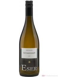 Hans Theo Eser Schwarzweiß Spätburgunder Blanc de Noir trocken 2011 Weißwein 12,5% 0,75l Flasche