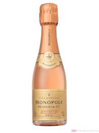 Heidsieck Monopole Rosé Top Brut Champagner 0,2l Piccolo