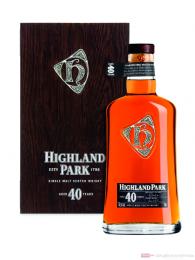 Highland Park 40 Years Single Malt Scotch Whisky 0,7l