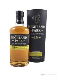 Highland Park 15 Years Single Malt Scotch Whisky 0,7l