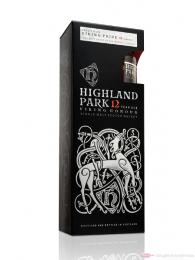 Highland Park 12 Years Viking Honour + Miniatur 18y. Single Malt Scotch Whisky 0,75l