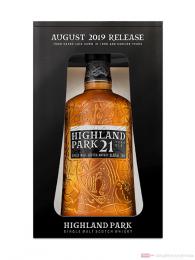 Highland Park 21 Years Single Malt Scotch Whisky 0,7l