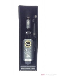 Beluga Gold Vodka in Ledertasche 0,7l