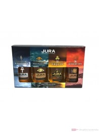 Isle of Jura Miniaturenset Single Malt Scotch Whisky 4x0,05l