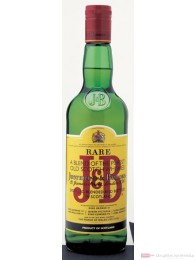 J & B Blended Scotch Whisky 40 % 0,7l Flasche