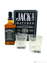 Jack Daniel's Single Barrel in Metalbox Tennessee Whiskey 0,7l
