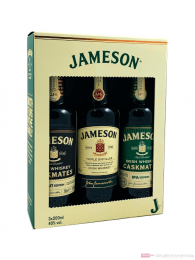 Jameson Tri Pack Irish Whiskey 3-0,2l