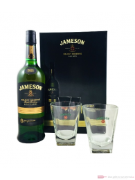 Jameson Select Reserve Black Barrel + Gläser