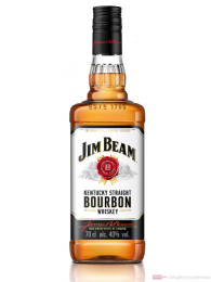 Jim Beam Kentucky Straight Bourbon Whiskey 40% 0,7l Flasche