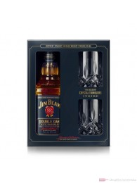 Jim Beam Double Oak mit 2 Tumbler