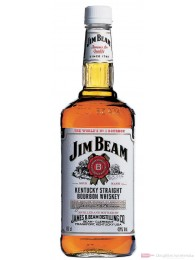 Jim Beam Kentucky Straight Bourbon Whiskey 40% 1,5l Magnum Flasche