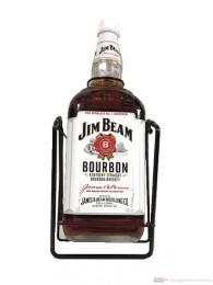 Jim Beam Kentucky Straight Bourbon Whiskey 4,5l mit Wippe