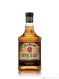 Jim Beam Devils Cut Kentucky Straight Bourbon Whiskey 1,0l