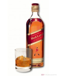 Johnnie Walker Red Label Blended Scotch Whisky 40% 1,0l Flasche