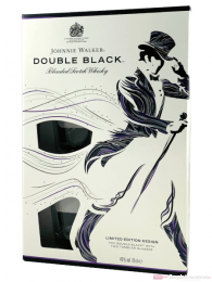 Johnnie Walker Double Black + 2 Gläser