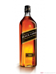 Johnnie Walker Black Label Blended Scotch Whisky 1,0l