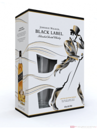 Johnnie Walker Black Label in GP mit Glas