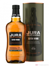 Isle of Jura Seven Wood Single Malt Scotch Whisky 0,7l