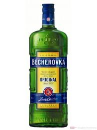 Karlsbader Becherovka Likör 38% 1,0l Flasche