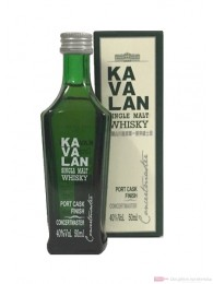 Kavalan Concertmaster Port Cask Finish Single Malt Whisky 0,05l