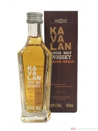 Kavalan Single Malt Whisky 0,05l