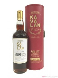 Kavalan Solist Sherry Cask Strength Whisky 57,8%